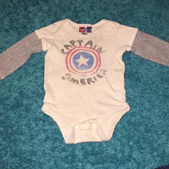 c1be9ceed Junk Food Clothing Shirts & Tops | Junk Food X Baby Gap Captain ...